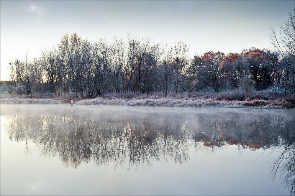 Frost and Fog Sudbury River